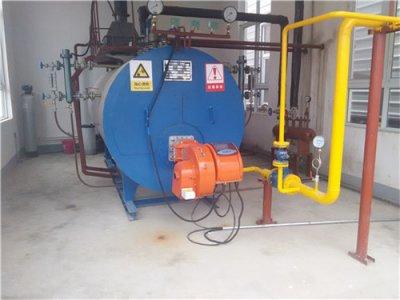 河南漯河蒸发量1吨燃气蒸汽锅炉