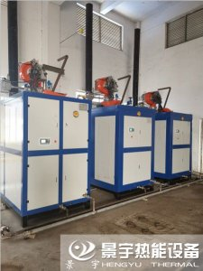 3台1吨蒸汽发生器发往浙江杭州