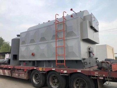 准备发往河北承德2吨生物质蒸汽锅炉