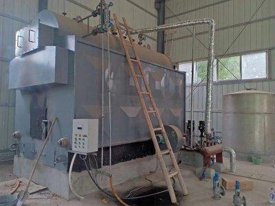 蒸发量1吨生物质蒸汽锅炉发往湖南株洲