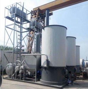 60万大卡导热油炉模温机案例安装