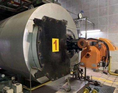 蒸发量2吨燃油蒸汽锅炉使用现场